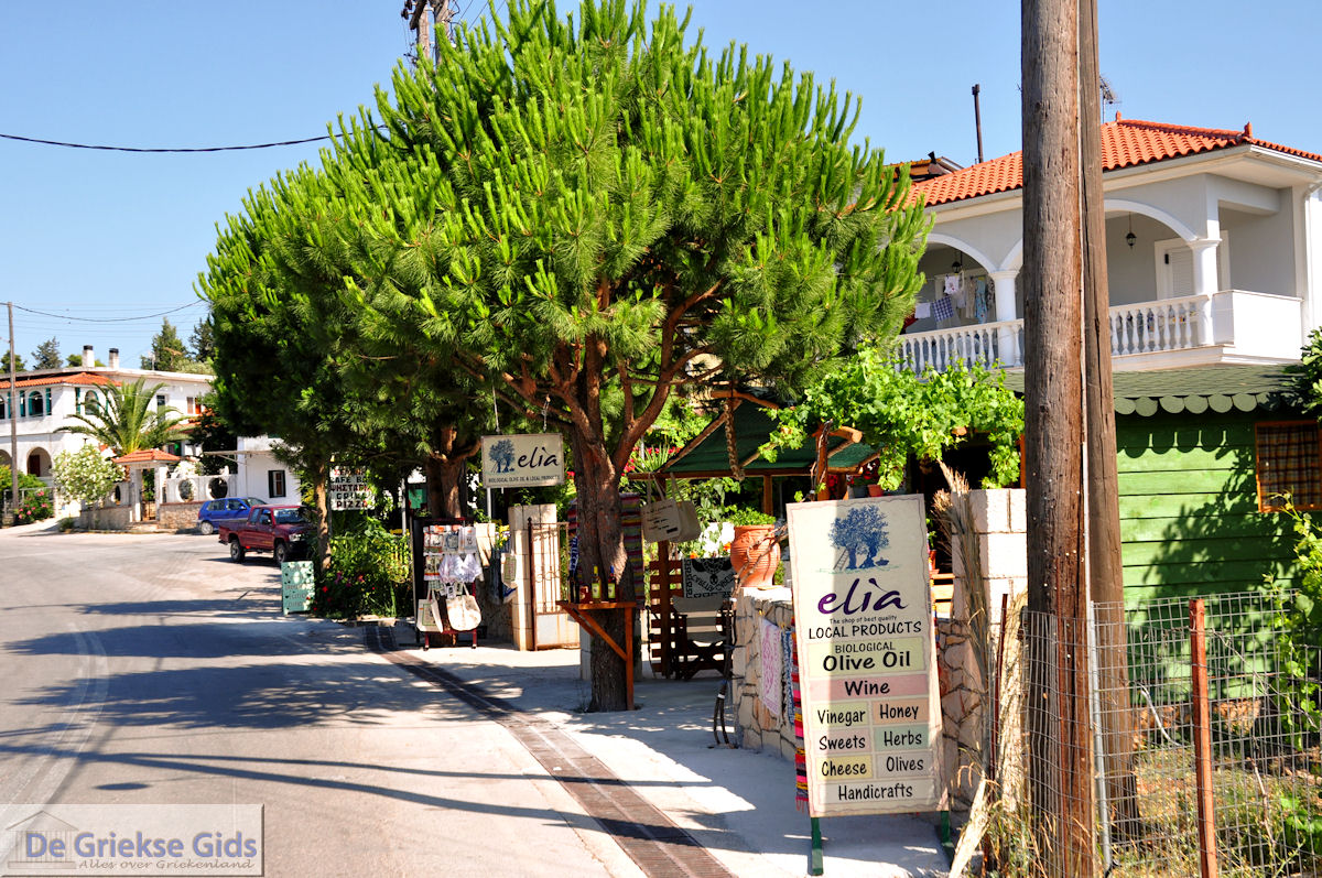 Panigiri in agios leon village