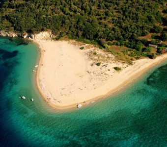 Marathonissi beach